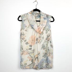 Tendeze Made in Italy Pastel Silk Blouse